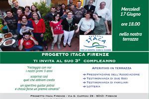 3 anniversario Progetto Itaca Firenze