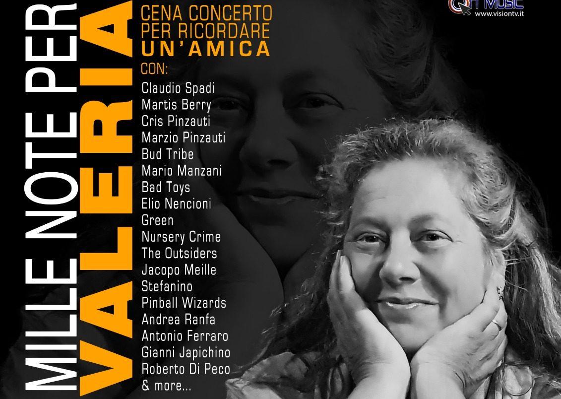 Mille Note per Valeria | Cena Concerto