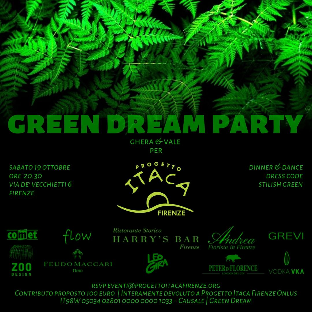 19 ottobre | Green Dream Party