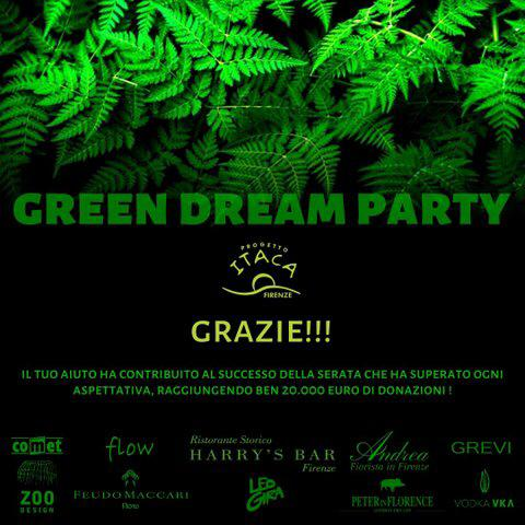 Green Dream Party | Grazie di cuore!