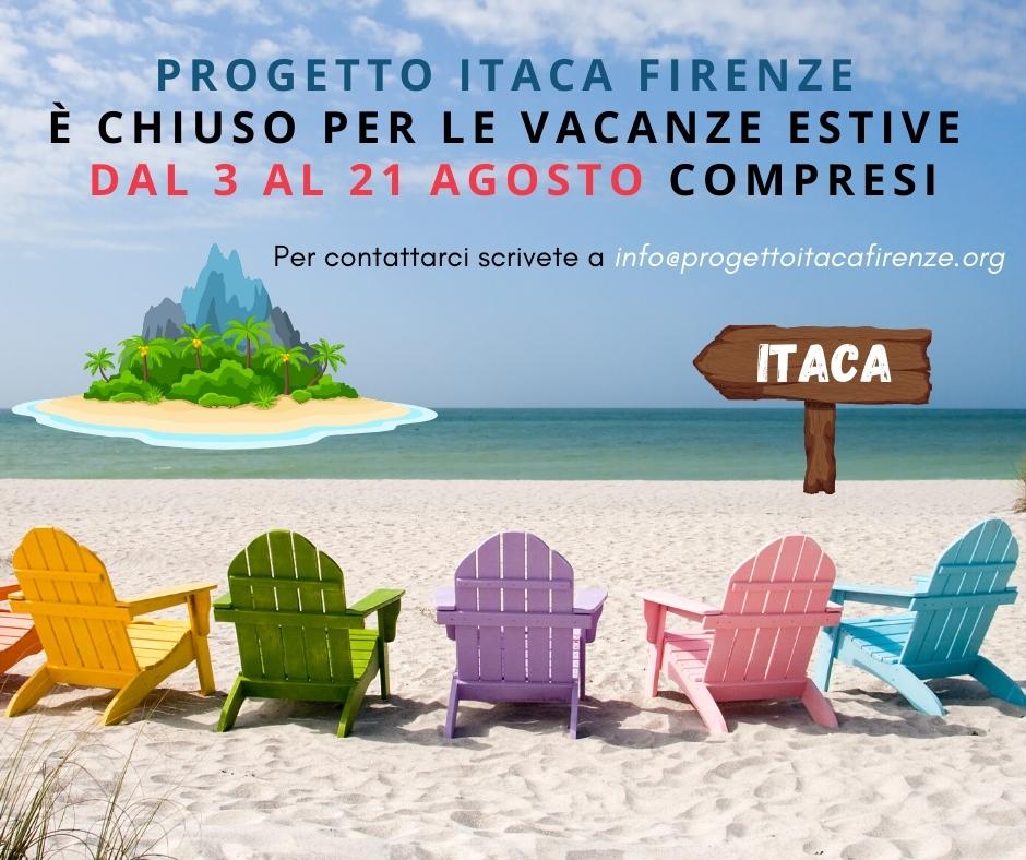 Progetto Itaca Firenze Onlus va in vacanza!